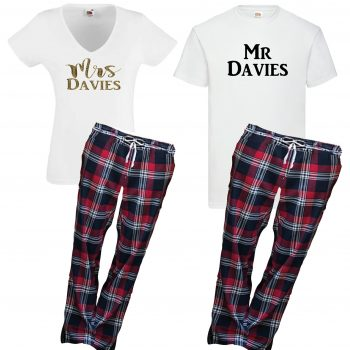His and Hers Pajama sets