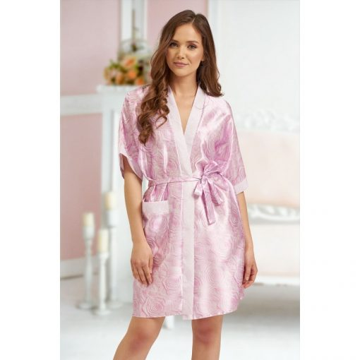 Alice - Pink floral robe