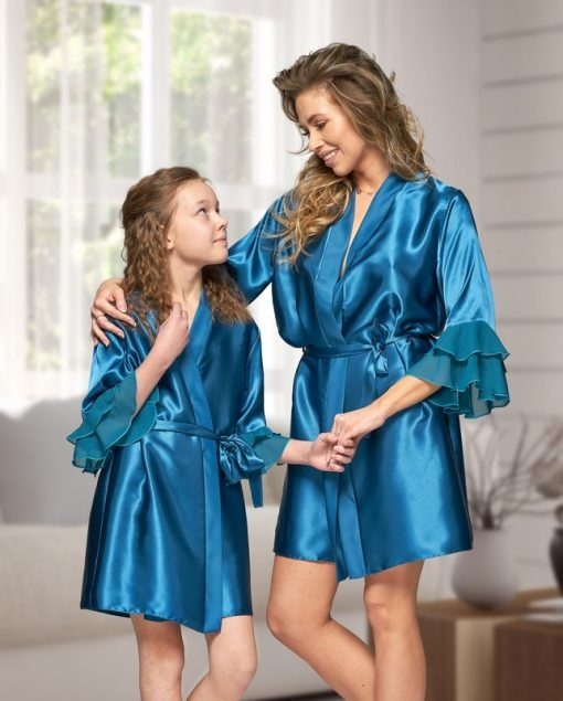 Teal Bride and Bridesmaid Robes - Wedding Threads
